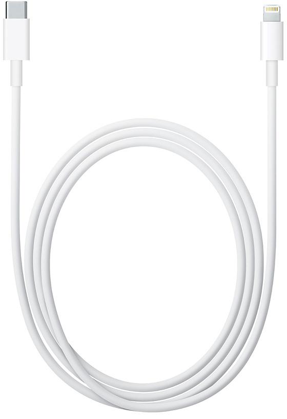 Кабель Apple Lightning - USB-C 1м (белый)