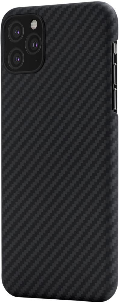 Клип-кейс Pitaka для Apple iPhone 11 Pro (черно-серый)