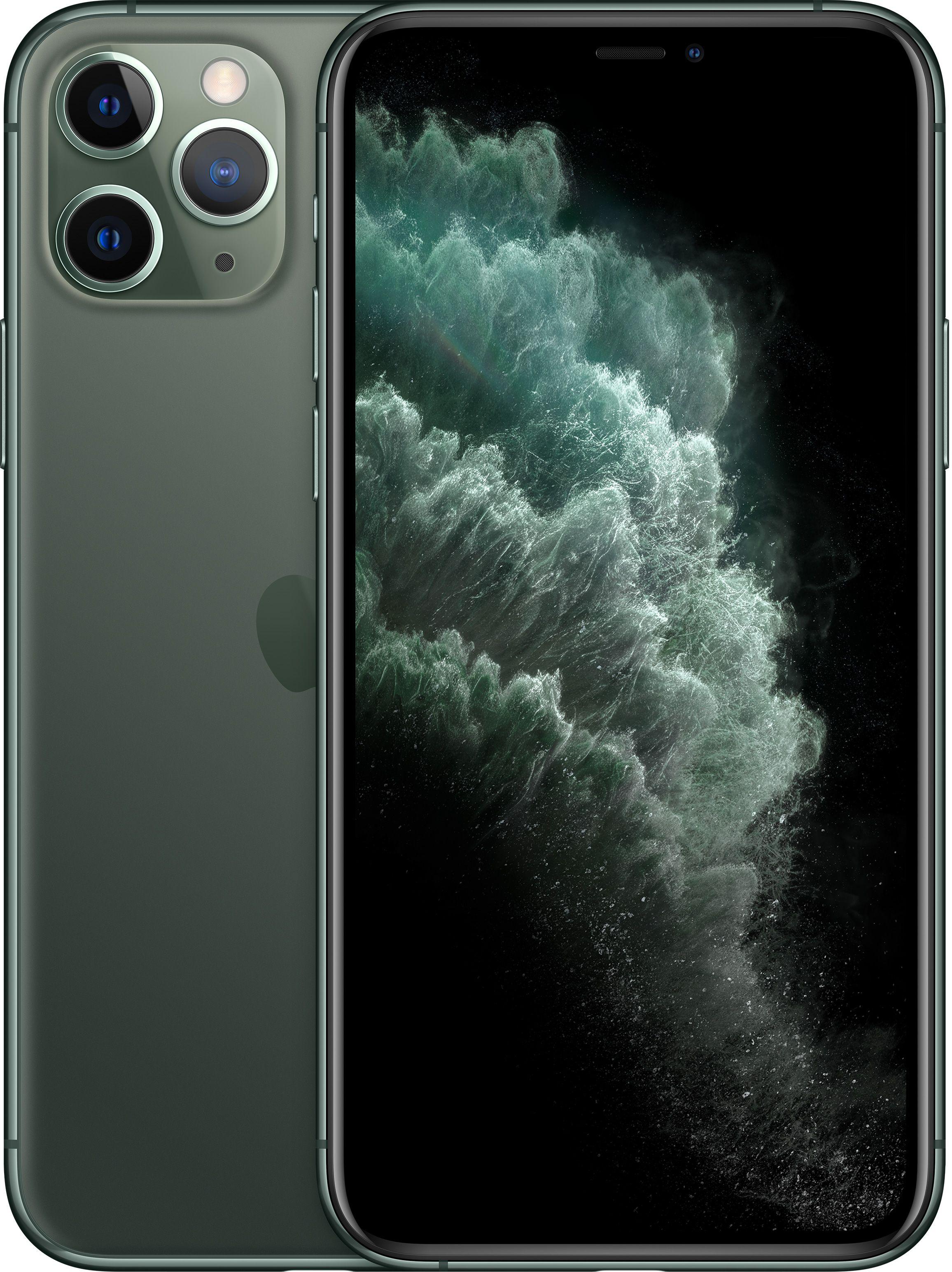 Мобильный телефон Apple iPhone 11 Pro 512GB (темно-зеленый) фото