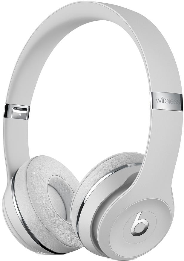 Наушники Beats Solo3 Wireless (атласное серебро) фото