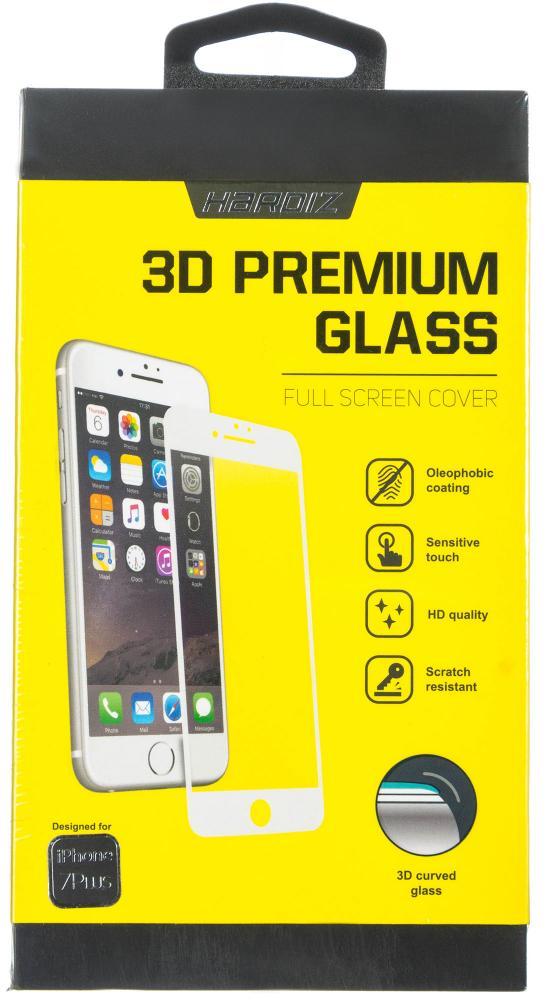 Защитное стекло Hardiz 3D Premium Tempered для Apple iPhone 7 Plus белая рамка
