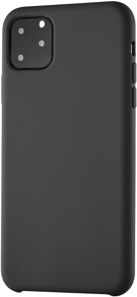 Клип-кейс uBear Siliconesoft touch дляApple iPhone 11 Pro Max (черный) фото