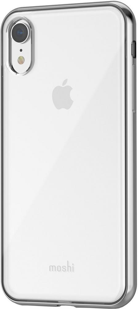 Клип-кейс Moshi Vitros для Apple iPhone XR (прозрачный серебристый) фото