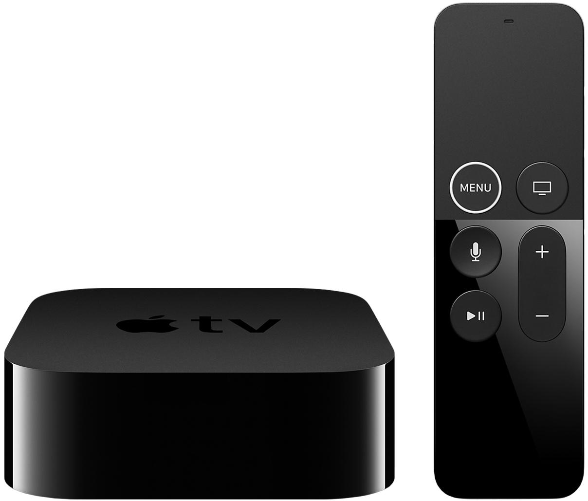 Медиаплеер Apple TV 4K 64Gb (черный) фото