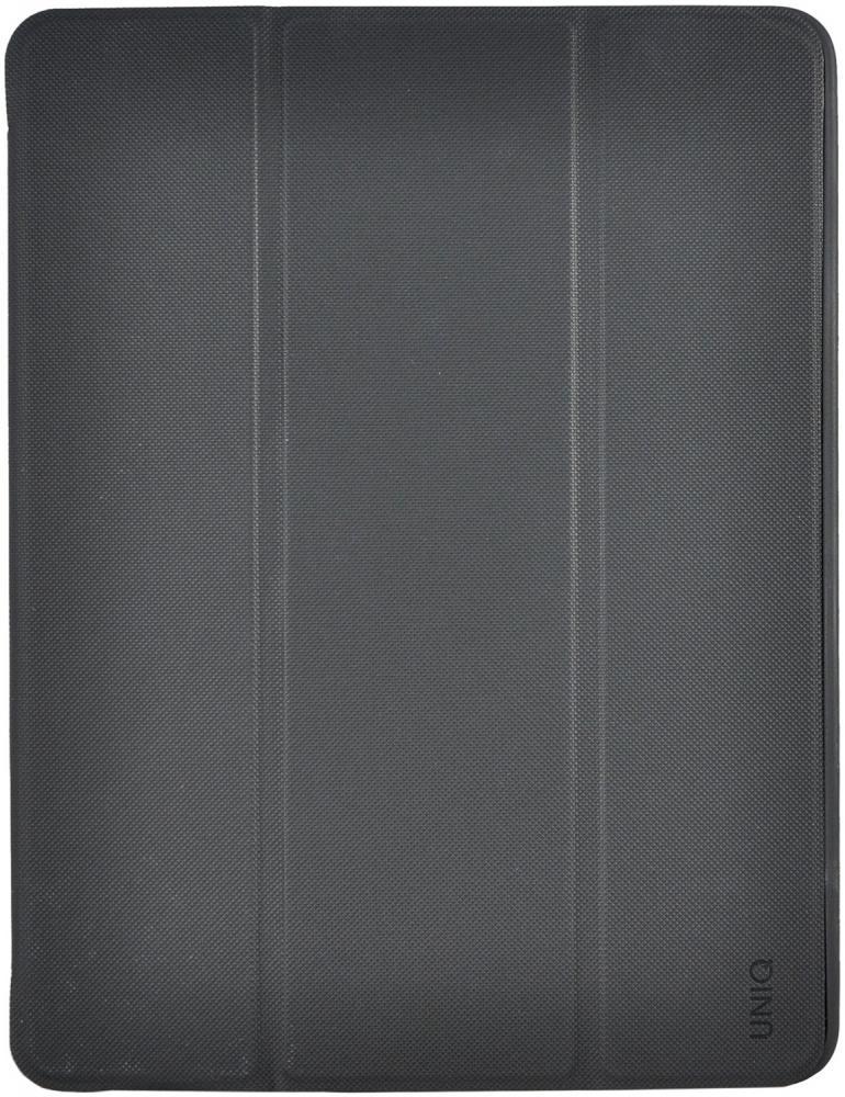 Чехол-книжка Uniq Tri-Fold Rigor для Apple iPad 9.7 (2018) (черный)