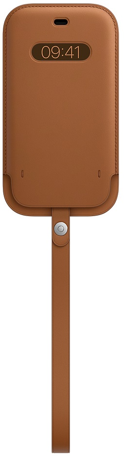 Клип-кейс Apple Sleeve MagSafe для iPhone 12/12 Pro (золотисто-коричневый)(Sleeve MagSafe для iPhone 12/12 Pro (золотисто-коричневый))