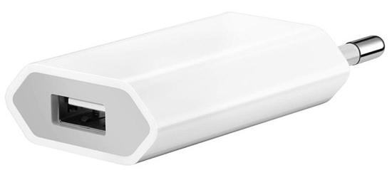 Сетевое зарядное устройство Apple USB мощностью 5 Вт (белый) фото