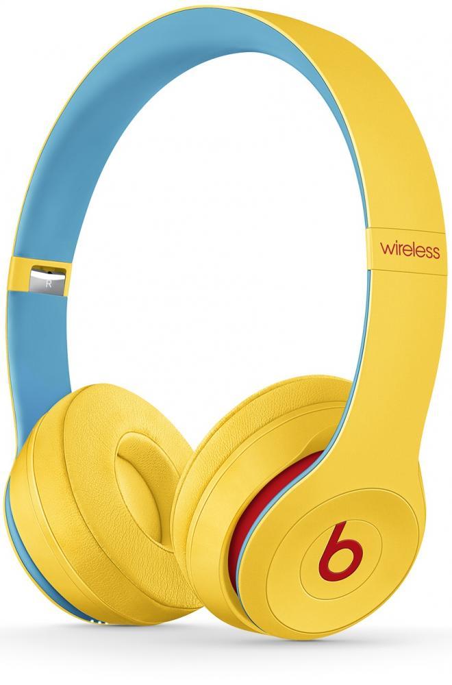Наушники Beats Solo3 Club collection (желтый) фото