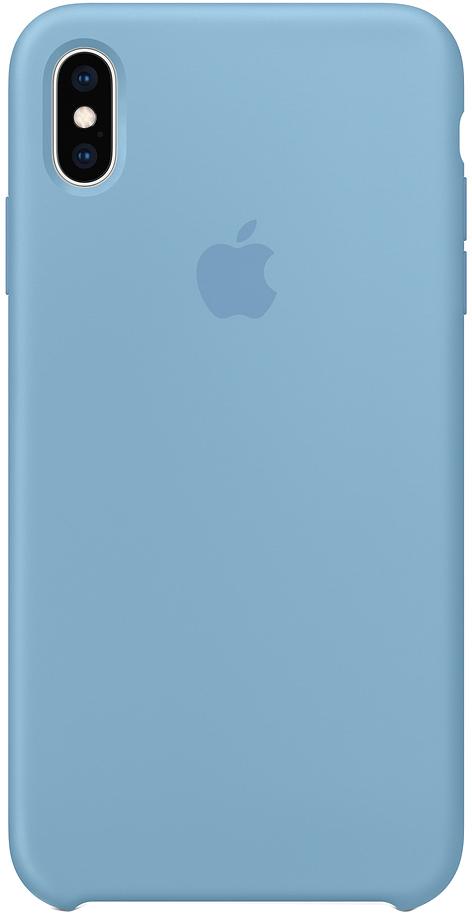 Клип-кейс Apple Silicone для iPhone XS Max (синие сумерки) фото