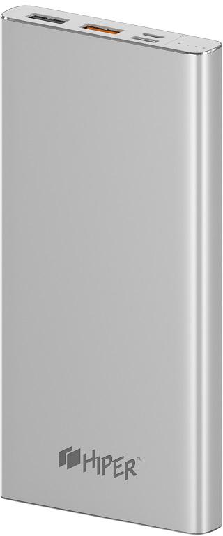 Портативное зарядное устройство HIPER MPX10000 (серебристый) фото