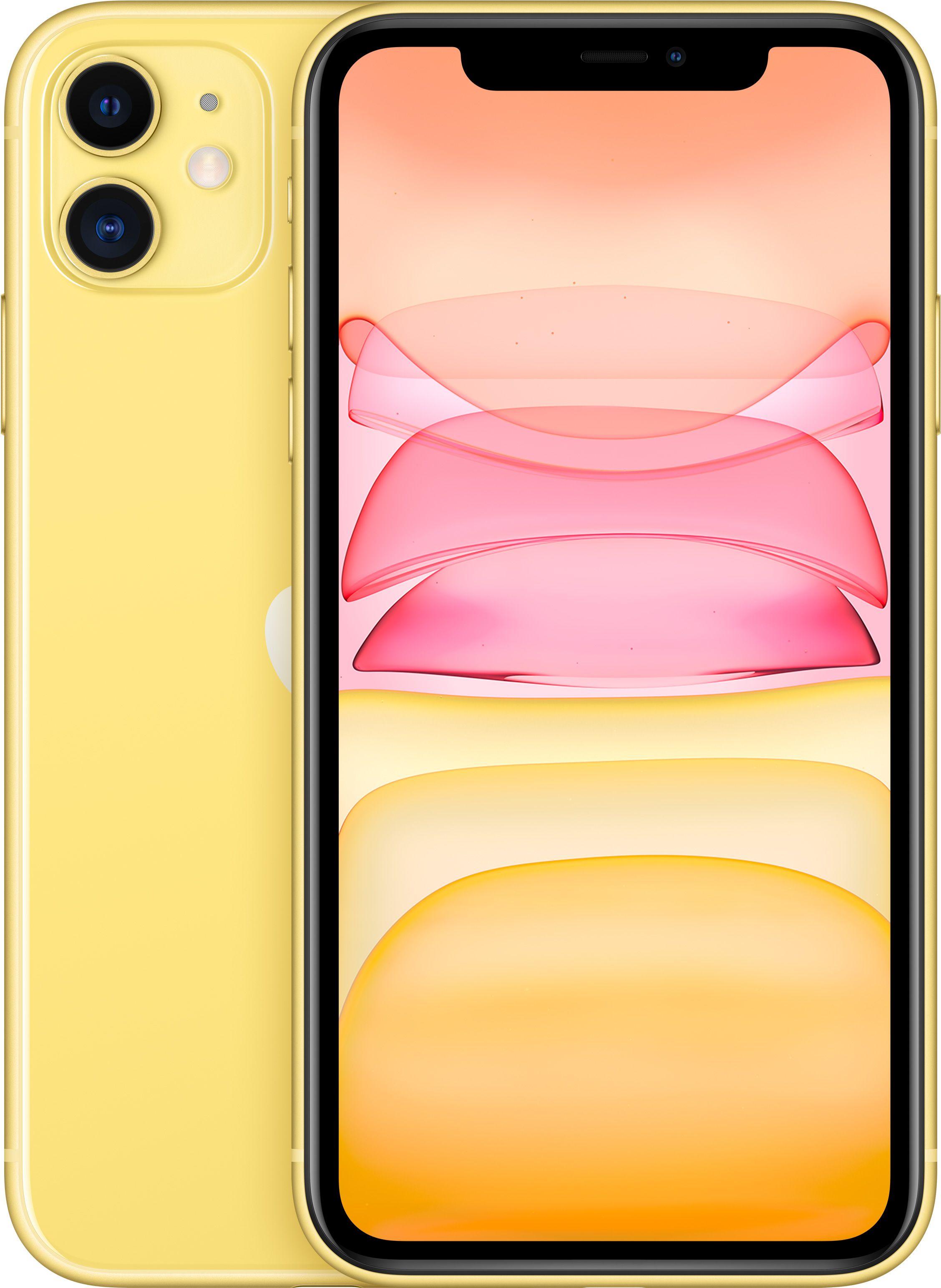 Мобильный телефон Apple iPhone 11 64GB (желтый) фото