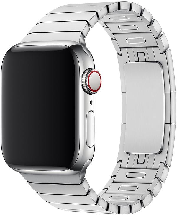 Ремешок Apple Link Band для Watch 38 мм (серебристый) фото