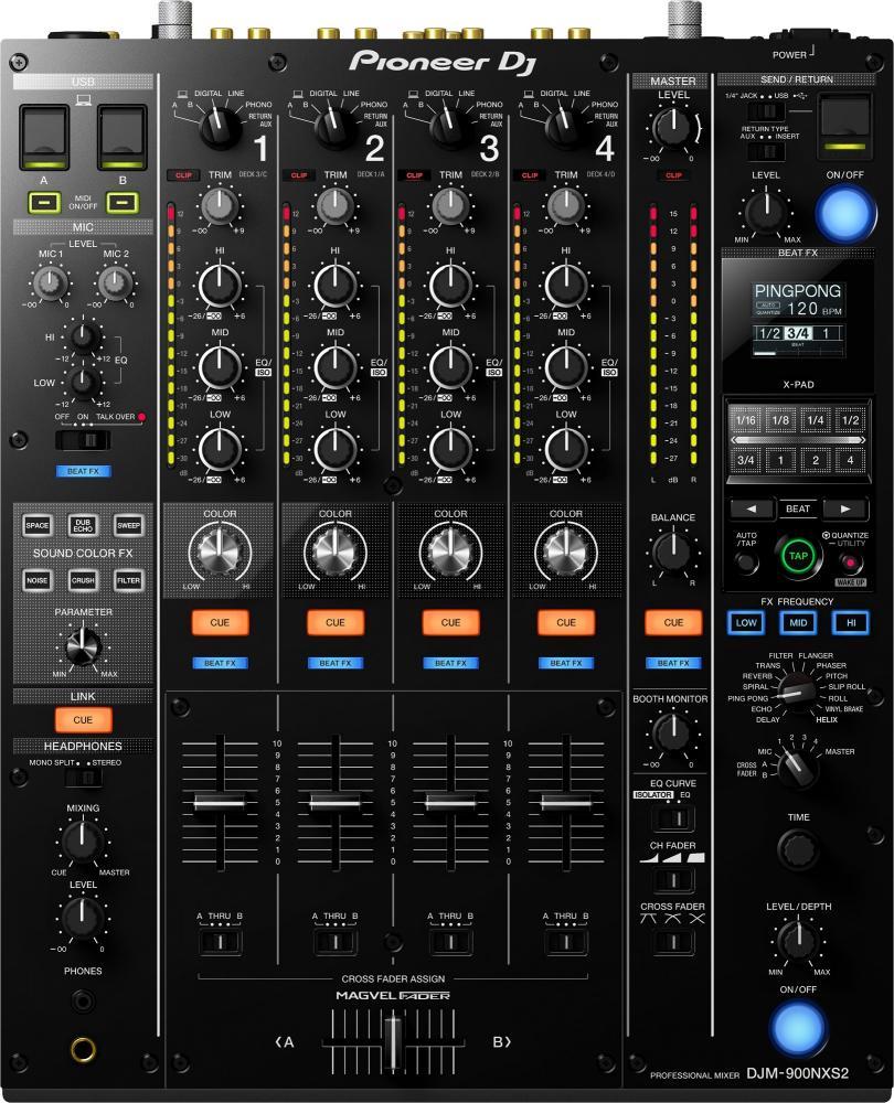 Микшерный пульт Pioneer DJM-900NXS2 (для всех пользователей)