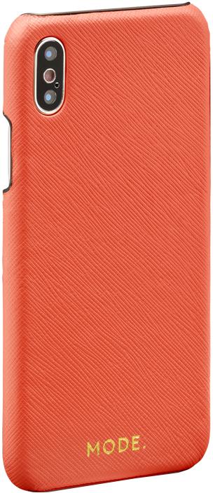 Клип-кейс DBramante1928 MODE London для Apple iPhone X (оранжевый) клип кейс guess iridescent для apple iphone x золотистый