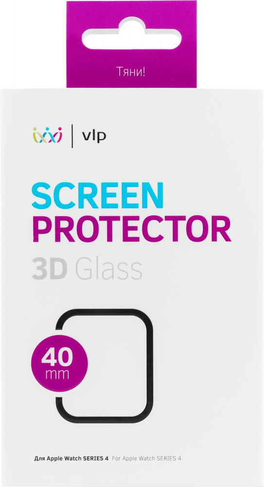 Фото - Защитное стекло VLP 3D для Apple Watch 40 мм защитное стекло skinbox apple watch 38mm