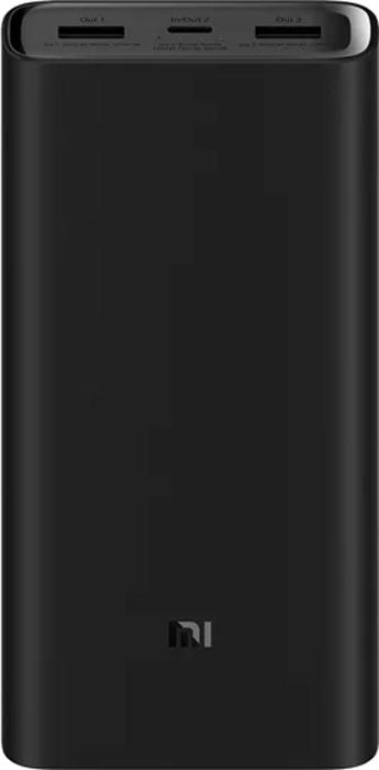 Внешний аккумулятор Xiaomi Mi Power Bank Pro 3 20000 мАч (черный)
