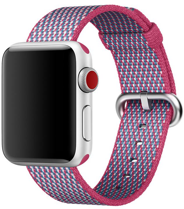 Ремешок Apple Nylon для Watch 38 мм (лесная ягода) фото