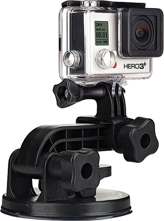 Крепление GoPro Suction Cup Mount AUCMT-302