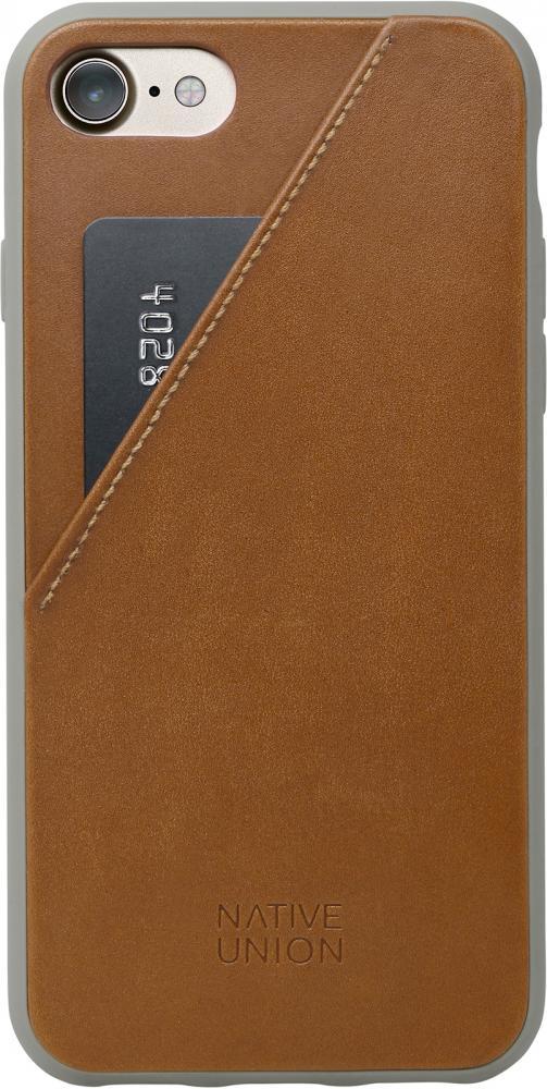 Клип-кейс Native Union CLIC CARD для Apple iPhone 8/7 (коричневый) фото
