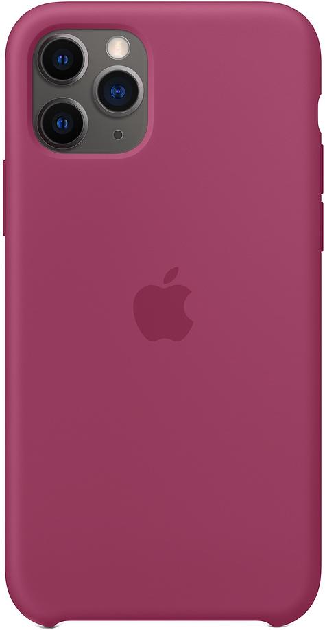 Клип-кейс Apple Silicone для iPhone 11 Pro (сочный гранат) фото