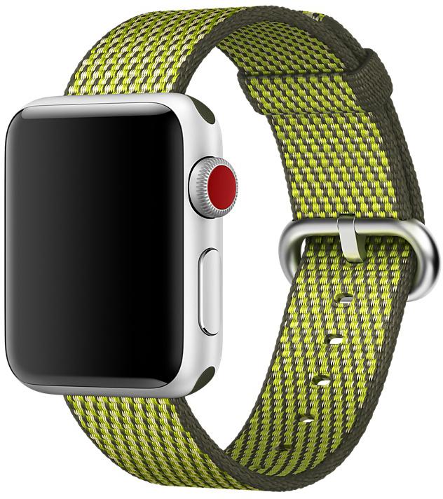 Ремешок Apple Nylon для Watch 38 мм (темно-оливковый)