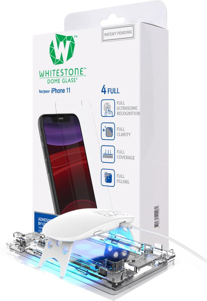 Защитное стекло Whitestone DOME для Apple iPhone 11 стекло защитное whitestone dome для apple watch series 4 5 44
