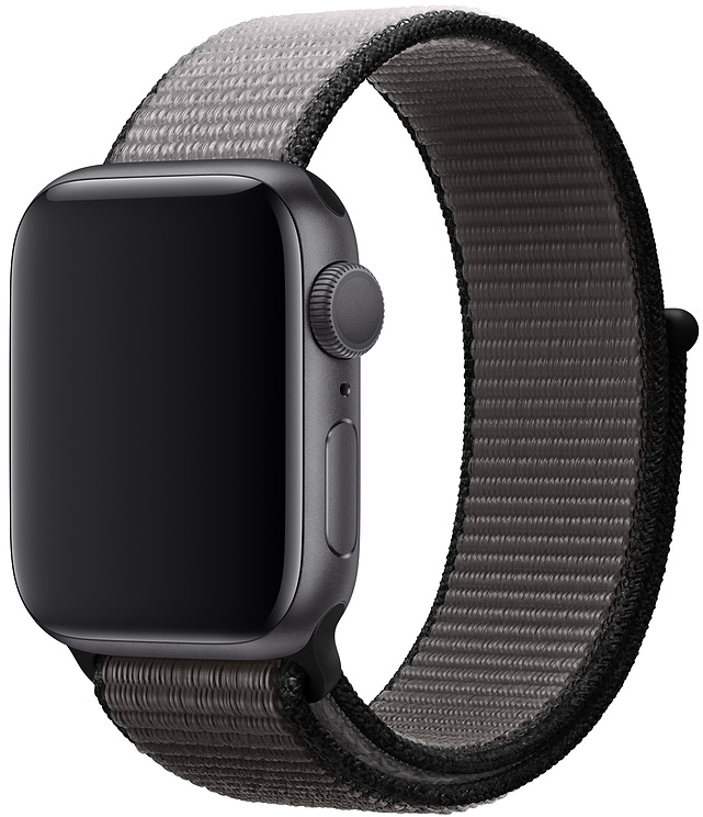 Ремешок Apple Sport Nylon Band для Watch 40 мм (тёмный графит) фото