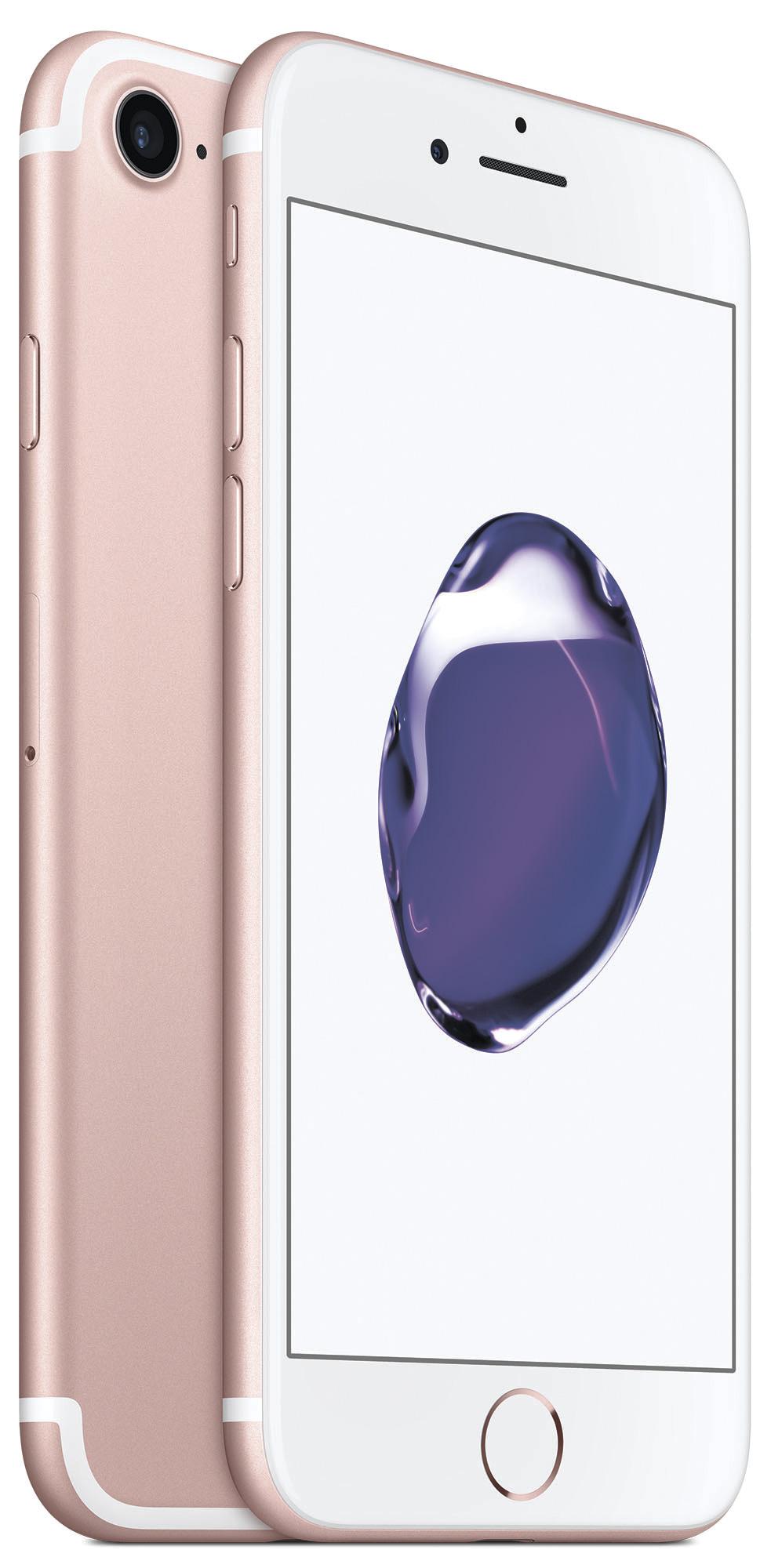 Мобильный телефон Apple iPhone 7 32GB (розовое золото) фото