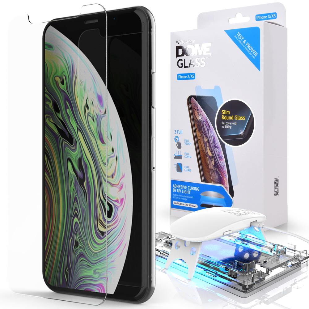 Защитное стекло Whitestone DOME для Apple iPhone XS/X стекло защитное whitestone dome для apple watch series 4 5 44