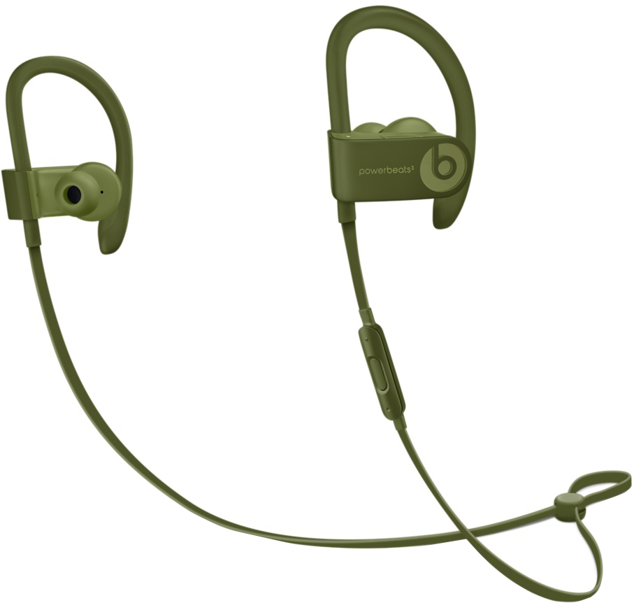 Наушники Beats Powerbeats3 Wireless (зеленый мох)