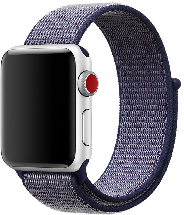 Ремешок Apple Sport Loop для Watch 38 мм (темно-синий)
