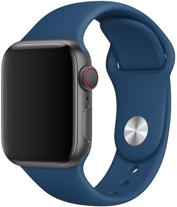 Ремешок Apple Sport Band для Watch 40 мм размеры S/M и M/L (морской горизонт) фото