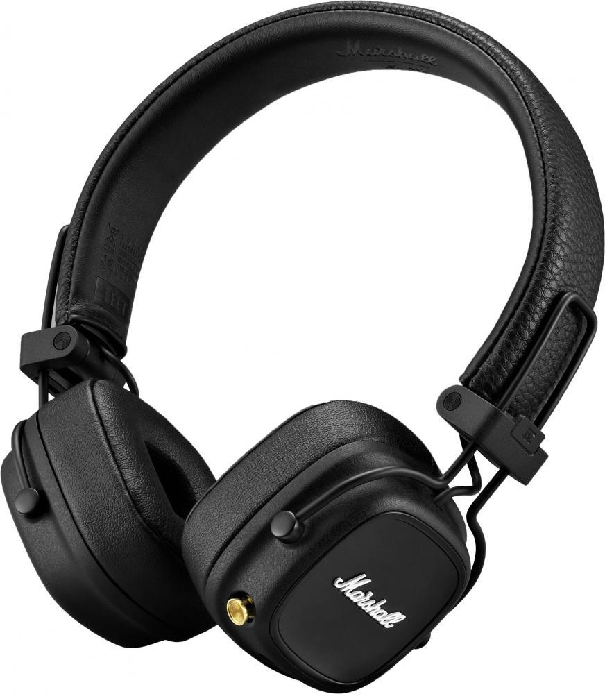 Marshall Major IV Bluetooth (черный)