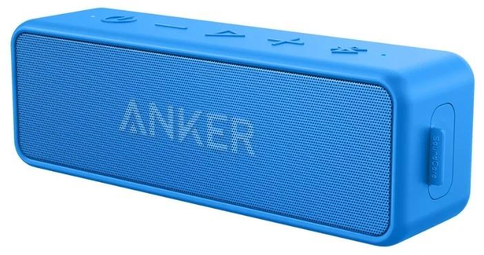 Портативная колонка Anker SoundCore 2 (голубой)