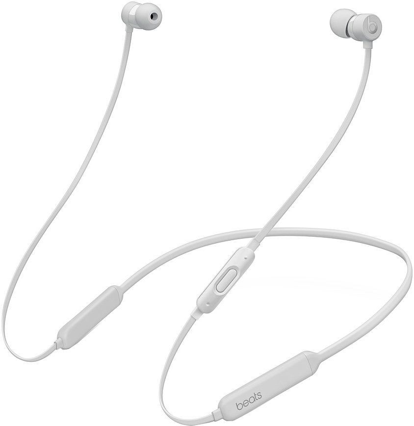 Наушники Beats X Earphones (атласное серебро) фото