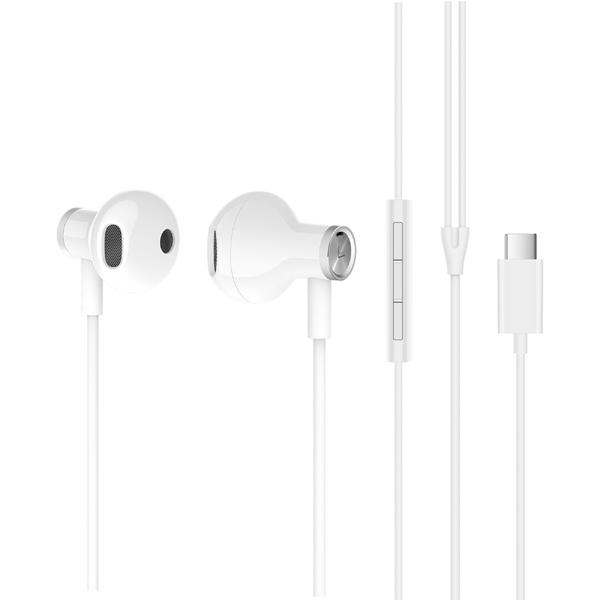 Наушники Xiaomi Mi Dual Driver Earphones (Type-C) (белый)