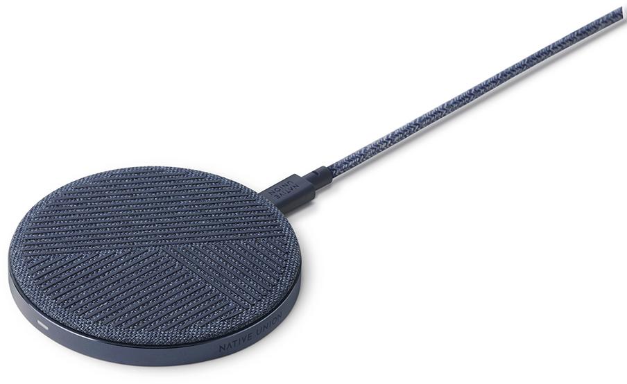 Беспроводное зарядное устройство Native Union DROP 10W (синий) фото