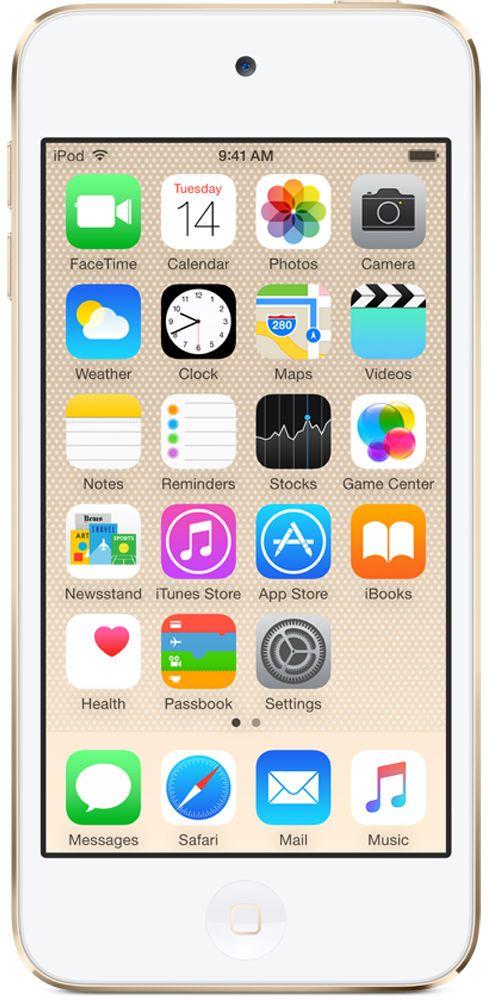 Фото - Плеер Apple iPod touch 128Gb MKWM2RU/A (золотистый) видео