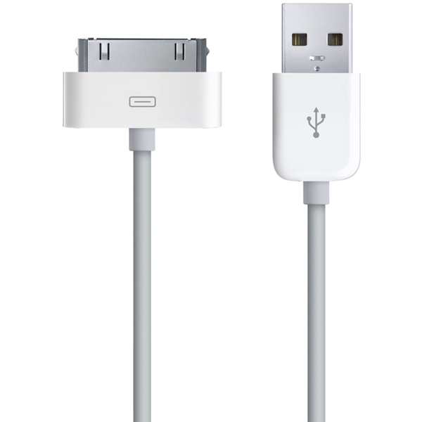 Кабель Apple Dock connector to USB MA591ZM/C (белый)