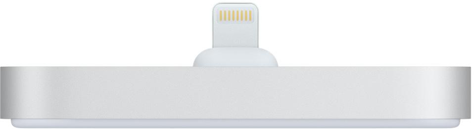 Док-станция Apple iPhone Lightning Dock (серебристый) фото