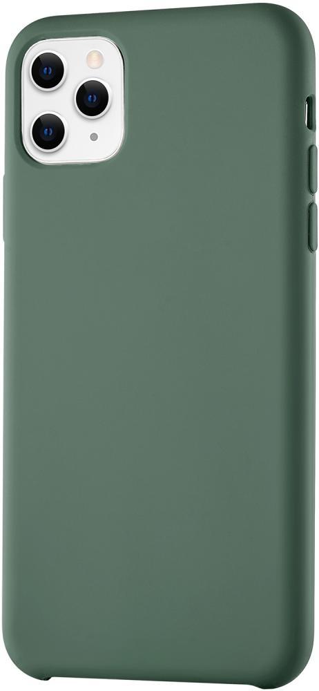 Клип-кейс uBear Siliconesoft touch дляApple iPhone 11 Pro Max (зеленый) фото