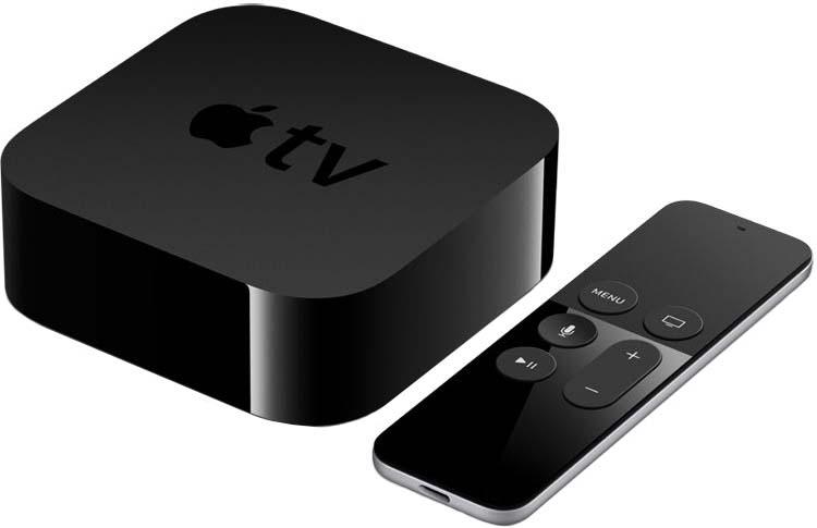 Медиаплеер Apple TV 32GB 4th generation (черный)