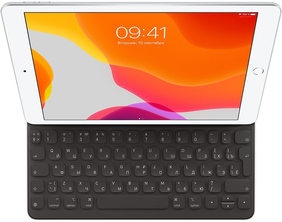 Чехол-клавиатура Apple Smart Keyboard для iPad (7‑го поколения) и Air (3‑го (черный)