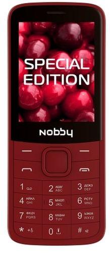 Мобильный телефон Nobby 220 (вишневый) фото