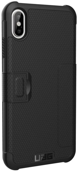 Чехол-книжка UAG Metropolis для Apple iPhone XS Max (черный) фото