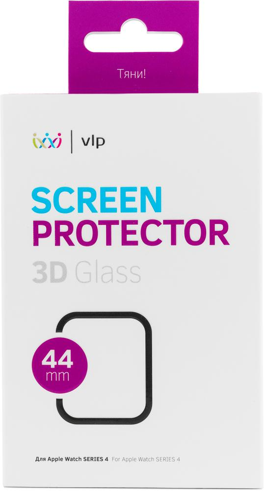 Фото - Защитное стекло VLP 3D для Apple Watch 44 мм защитное стекло skinbox apple watch 38mm