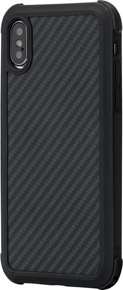 Клип-кейс Pitaka Antishock для Apple iPhone X/XS (черно-серый)