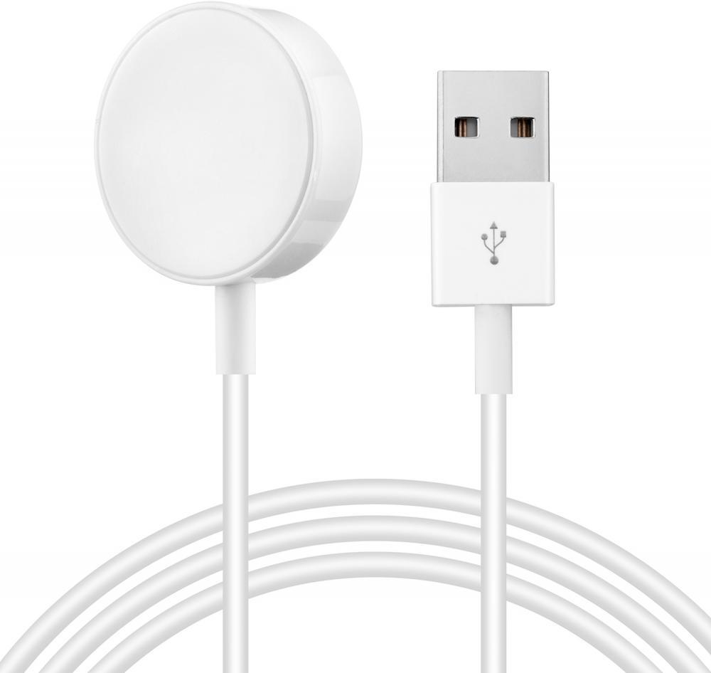 Зарядный кабель Wolt WLT-AWC-001 для Apple Watch (белый) фото