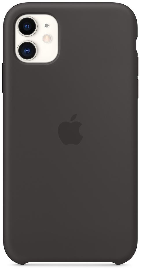 Клип-кейс Apple Silicone для iPhone 11 (черный) фото