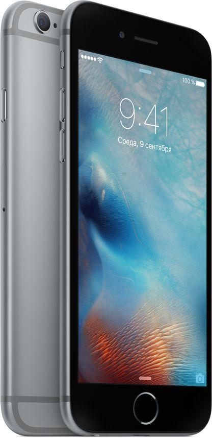 Мобильный телефон Apple iPhone 6s 32GB как новый (серый космос) фото
